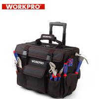 Комплект инструменти в чанта на колелца  Workpro / 86 части + 90бр винтове /