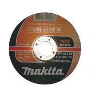 Диск  Makita за рязане на метал ф 125 х 1.2 х 22.23 INOX