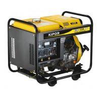 Заваръчен генератор Kipor KDE-180EW / 3 kVa , 50-180 A , AVR /