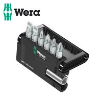 Комплект битове с държач в поставка Wera /7 части /