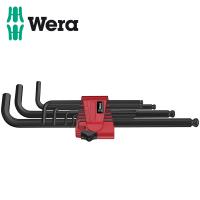 Комплект Г-образни шестограми WERA BlackLaser / 9 броя /