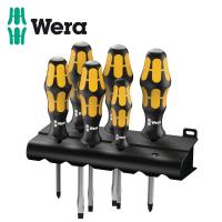 Комплект усилени, ударни отвертки Wera / 6 части /