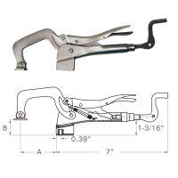 Клещи чираци Strong Hand PT14 / 120 мм, за закрепване на планки /