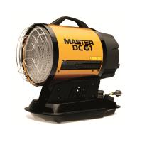 Дизелов инфрачервен отоплител MASTER DC 61 /17 kW , с батерия и адаптер /