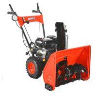 Самоходен бензинов снегорин HECHT 9555 SE /ЕЛ. СТАРТ + LED Фар / 5.5 к.с.  56см /