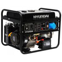 Бензинов генератор Hyundai HHY7000FE / 5.0 kW, 13 HP, 18 л. резервоар /