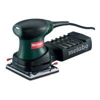 Виброшлайф METABO FSR 200 INTEC / 200 W , 114x102 mm /