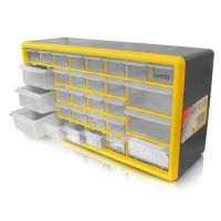 Шкаф органайзер с 30 чекмеджета ERBA 02442 / 500 x 160 x 250 mm /