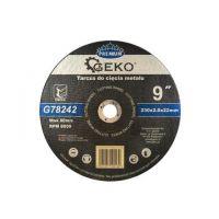Диск за рязане на метал GEKO Premium INOX / Ø 230 x 2 x 22.23 mm/