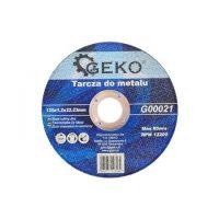 Диск за рязане на метал GEKO G00021  / Ø 125 x 1.2 x 22.23 mm/
