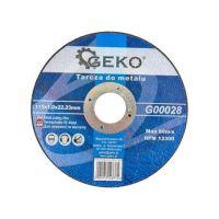 Диск за рязане на метал GEKO G00028 / Ø 115 x 1.0 x 22.23 mm/