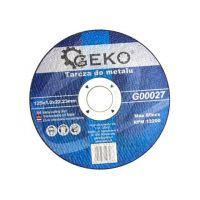 Диск за рязане на метал GEKO G00027  / Ø 125 x 1.0 x 22.23 mm/