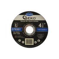 Диск за рязане на метал GEKO Premium INOX/ Ø 115 x 1 x 22.23 mm/