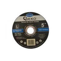 Диск за рязане на метал GEKO Premium INOX/ Ø 125 x 1 x 22.23 mm/