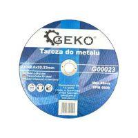 Диск за рязане на метал GEKO G00023/ Ø 230 x 2.0 x 22.23 mm/