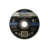 Диск за рязане на метал GEKO Premium INOX/ Ø 115 x 1.6 x 22.23 mm/
