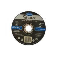Диск за рязане на метал GEKO Premium INOX/ Ø 125 x 1.2 x 22.23 mm/
