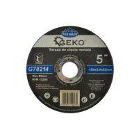 Диск за рязане на метал GEKO Premium INOX/ Ø 125 x 2 x 22.23 mm/