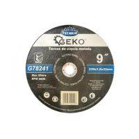 Диск за рязане на метал GEKO Premium INOX/ Ø 230 x 1.6 x 22.23 mm/