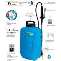 Пръскачка на батерии MATABI Еvolution15 LTC /15 л, 18 V,  2.6 Ah, с батерия и зарядно),подходяща за дезинфекция