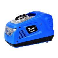 Мини компресор с LED фенер и манометър GEKO G01260 /12V / 230V, 100 W,  5 bar /