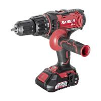 Акумулаторна ударна бормашина RAIDER RDP-SCDI20 Set от серията R20 System / 20 V, 13 mm, 50 Nm, с 2 бр. батерия, зарядно устройство и куфар /