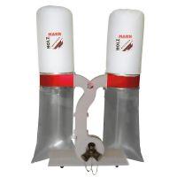 Професионален прахоуловител HOLZMANN ABS3880 с два филтъра / 3300 W, 230 V, 3880 m³/ h, с 3 присъединителни отвора /