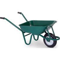 Градинска количка с плътно колело Herly Silver/ 65 л, 80 кг /