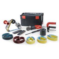 Специализирана полирмашина и шлайф за тръби Flex BSE 14-3 INOX Set / 1400 W, Ø125 mm, консумативи, куфар /