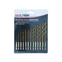 Комплект свредла за метал Bolter / 13 броя /