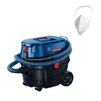 Прахосмукачка за сухо и мокро почистване Bosch GAS 12-25 PL, 1250 W, 65 л/с, 25 л