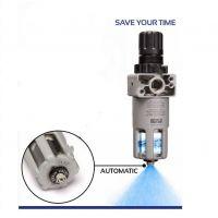 """Автоматичен кондензоотделител регулатор Gav / 1/4"""", с редуцир вентил и манометър/"""