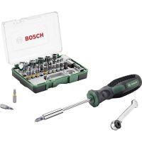 Комплект отвертка с битове и тресчотка Bosch /28 части/