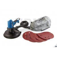 Шлайф машина за стени и тавани Hyundai 1010W  / 230V,  1010W,  225 mm. с торба за прах/