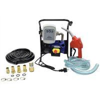 Електрическа помпа за дизелово гориво и масло с брояч и пистолет GEKO G00947 / 600W, 40 л/мин / пистолет  със стопер