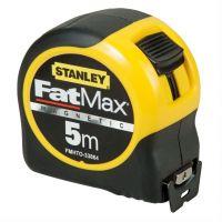 Ролетка гумирана противоударна с магнит  Stanley FatMax / 5 м, с магнит /