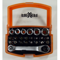 Комплект битове и вложки REXXER RA-04-497 - 26 части