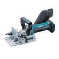 Фреза дърводелска за сглобки тип бисквитки Makita DPJ180Z / 18 V, 6500 оборота минута, 100 мм /