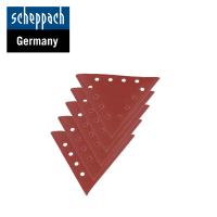 Триъгълна шкурка за шлайфане Едрост 180, 10 броя / Scheppach 7903800605 /