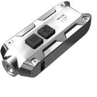 Фенер за ключодържател Nitecore Tip SS Glacier/ 74 m, 360 lum, USB /
