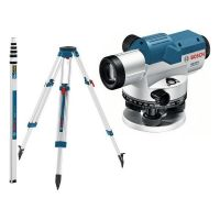 Нивелир оптичен GOL 32 G Professional + BT 160 статив и GR 500 лата BOSCH /комплект/