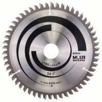 Циркулярен диск Bosch Multi Material /190 x 30 x 2.4 mm, 54/