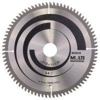 Циркулярен диск Bosch Multi Material /210 x 30 x 2.5 mm, 80/
