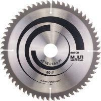 Циркулярен диск Bosch Multi Material /216 x 30 x 2.5 mm, 60/