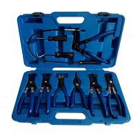 Клещи за скоби на водни съединения – комплект 9 части, 50334