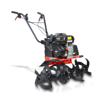 Бензинова мотофреза/култиватор HECHT 790BS /4.8 kW, 6.5 HP, 32/50/84 cm, двигател Briggs & Stratton CR 950/