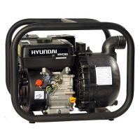 """Бензинова моторна помпа за морска вода и химически материали  Hyundai HYC50 /6.5 hp, 2 """" - 50 mm, 30 m, 500 l/min /"""