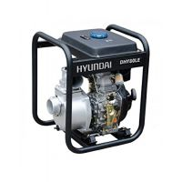 "Дизелова помпа с ел.стартер Hyundai DHY80LE, 80 mm 3 "", 6 HP, 33 m, 60 m3 /h"
