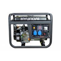 Бензинов монофазен генератор Hyundai HY4100L  / 3.3 kW, 7.5 HP, 15 L, ръчен старт /