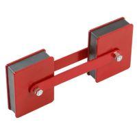Двоен магнит с регулируем ъгъл за заваряване HBM 0453 /23 х 6.5 cm/